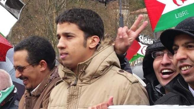 Hassanna Aalia, activista saharaui de 26 años al que se le ha negado el asilo político en España.
