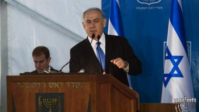 El primer ministro, Benjamin Netanyahu.