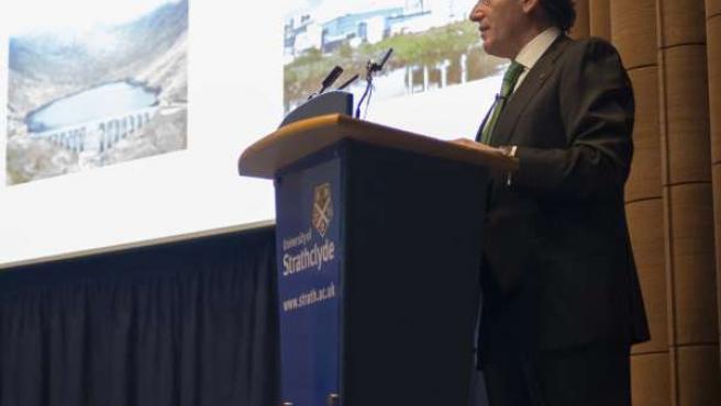 Ignacio Galán en la Universidad de Strathclyde