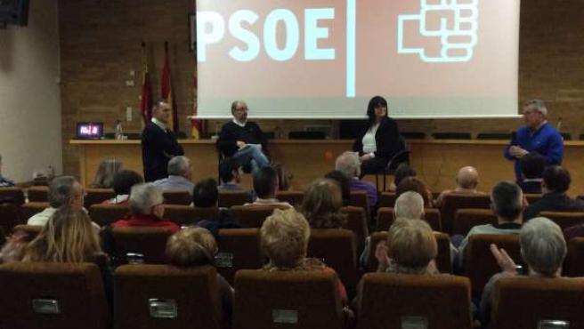Javier Lambán este sábado en la asamblea.