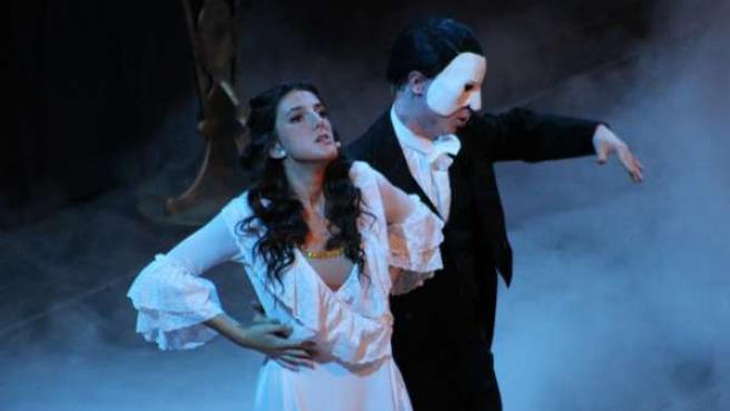 Imagen de la obra 'Fantasma de la ópera'.