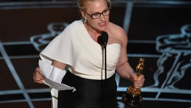 Patricia Arquette se ha llevado el Oscar a la mejor actriz por Boyhood.