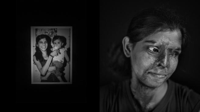 Retrato de Jordi Pizarro, finalista por su reportaje a mujeres de la India supervivientes tras ser atacadas con ácido
