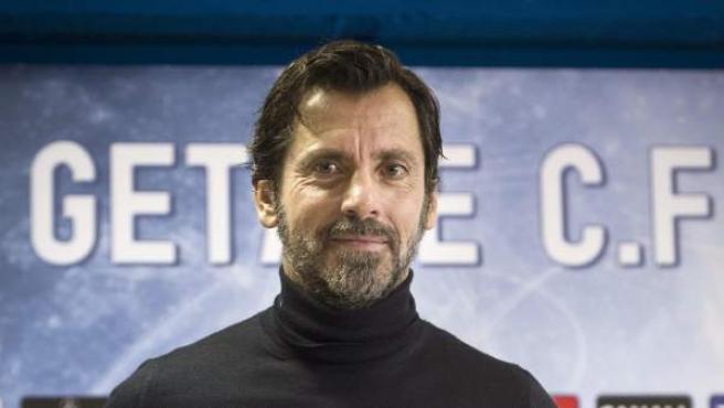 El entrenador Quique Sánchez Flores.