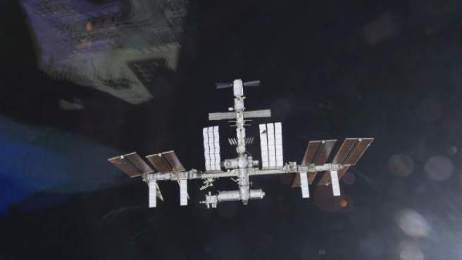 Fotografía de archivo de la Estación Espacial Internacional.
