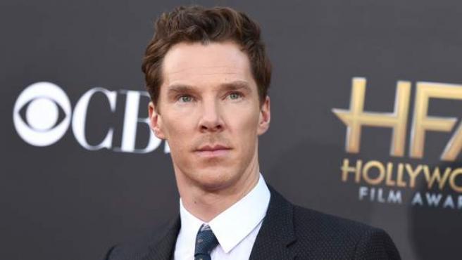 El actor Benedict Cumberbatch, durante la gala de los Hollywood Film Awards, celebrada en Los Ángeles el pasado noviembre de 2014.