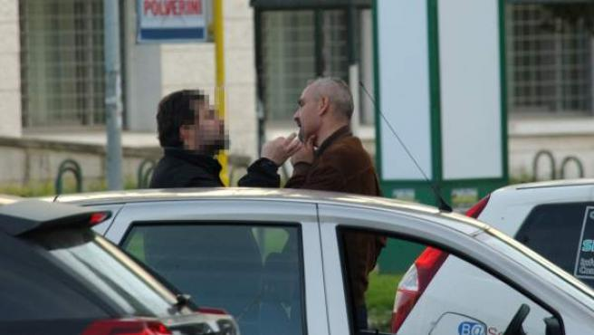 Tullio Bianco, alias Ginocchia, miembro de un grupo de la Camorra italiana detenido por la Guardia Civil en Sant Cugat del Vallès (Barcelona).