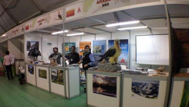 Aragón, presente en la Feria Internacional de Turismo Ornitológico