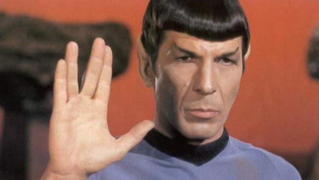 Leonard Nimoy, el señor Spock de 'Star Trek'.