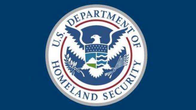 Bandera del Departamento de Seguridad Nacional de los Estados Unidos.