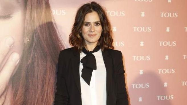 La actriz española Anna Allen, en un acto en Madrid en noviembre de 2011.