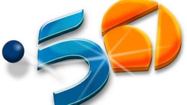 Logos de las cadenas Telecinco y Antena 3.