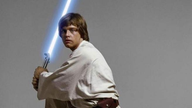 Mark Hamill, como Luke Skywalker.