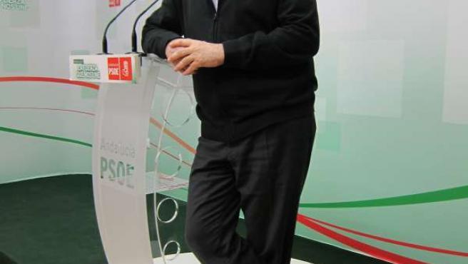 El candidato del PSOE por Córdoba al Parlamento andaluz, Juan Pablo Durán