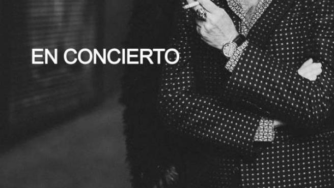 Cartel concierto Sabina Málaga