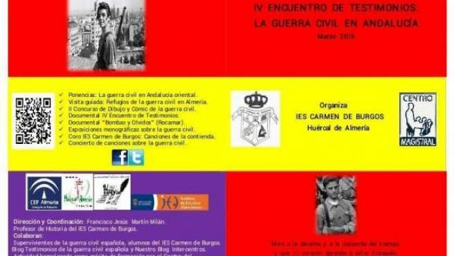Jornadas de la Guerra Civil en Almería