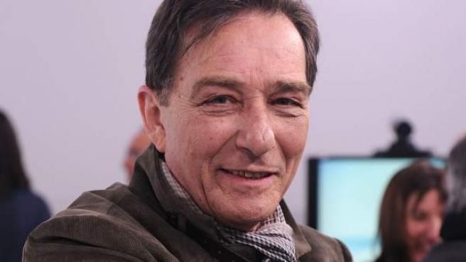 El actor Héctor Colomé, durante la presentación de la serie 'La República', en 2011.