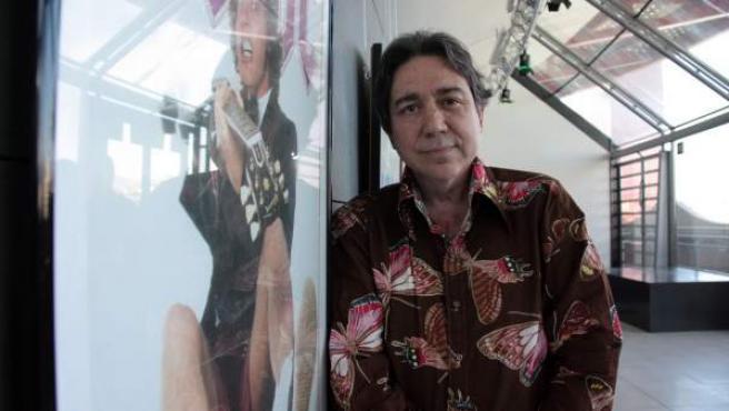 El periodista y crítico musical Jordi Tardà, en 2011, cuando impulsó el museo del rock de Barcelona.