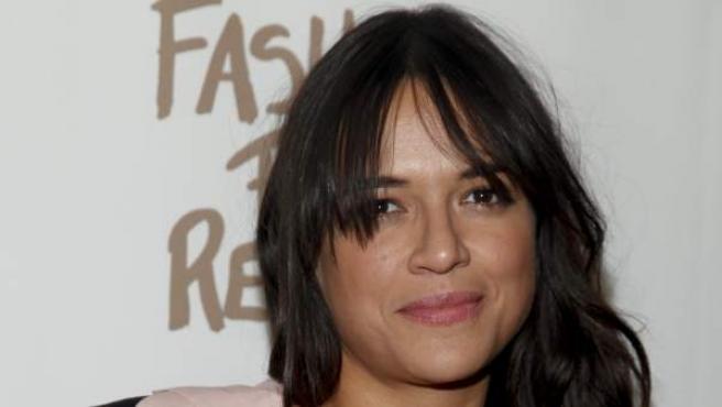 La actriz Michelle Rodriguez en un evento.