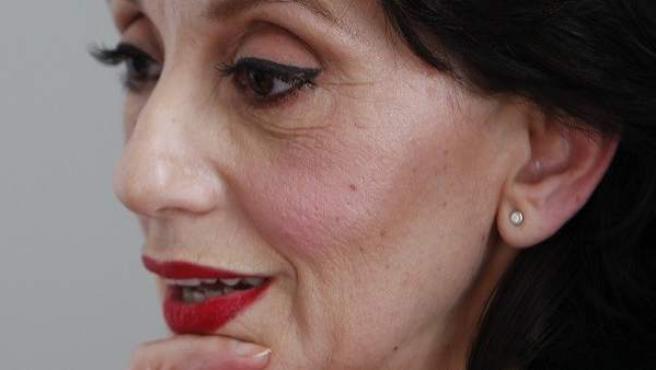La cantante Luz Casal
