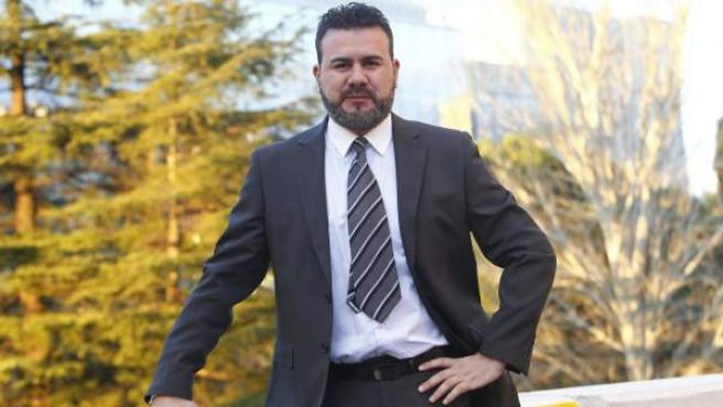Miguel Ángel Galán en su visita a la redacción de 20 minutos.
