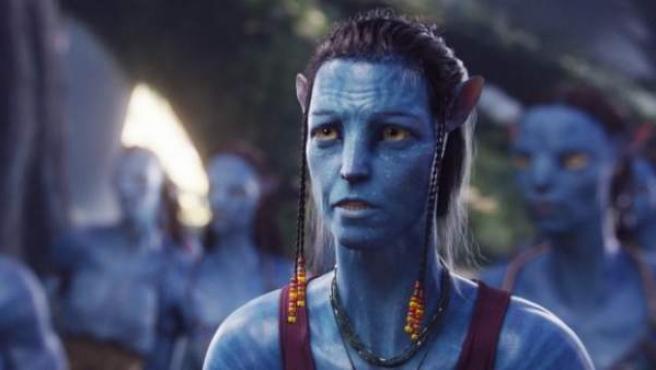 Sigourney Weaver en 'Avatar'.