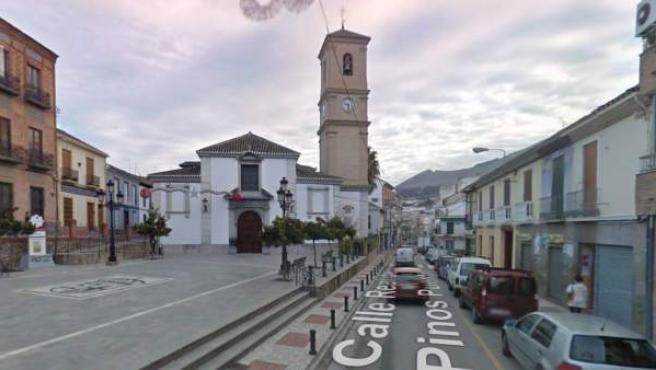 Calle Real de Pinos Puente (Granada).