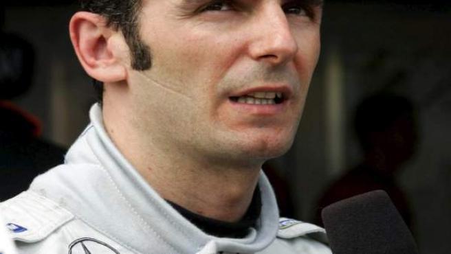 El piloto catalán, Pedro Martínez de la Rosa.