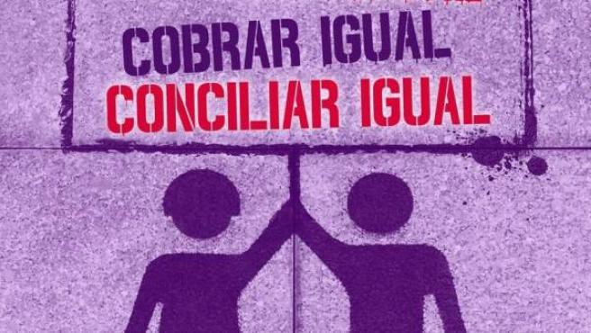 Cartel convocatoria de manifestación del 8 de marzo.