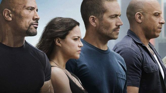 'Fast & Furious 7' : Coches en caída libre