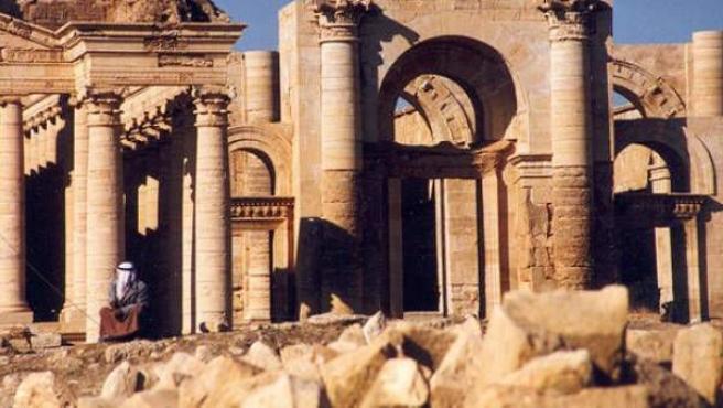 Una imagen de las ruinas de Hatra, en Irak.