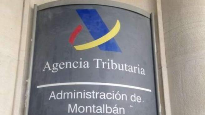 Imagen de archivo de una sede de la Agencia Tributaria en Madrid.
