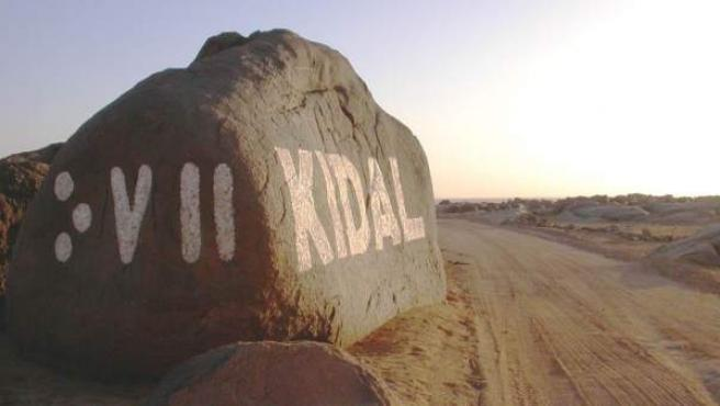 Entrada de Kidal (Mali).