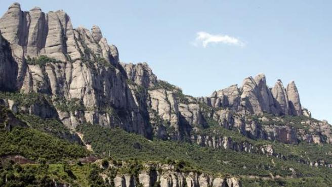 La montaña de Montserrat.