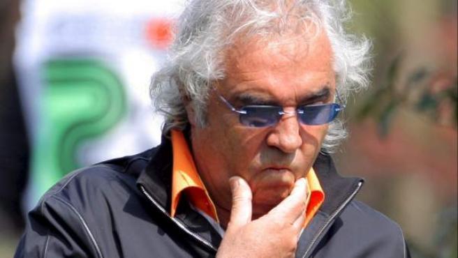Flavio Briatore, director de la escudería de Fórmula1 Renault y dueño del 'Billionaire'.