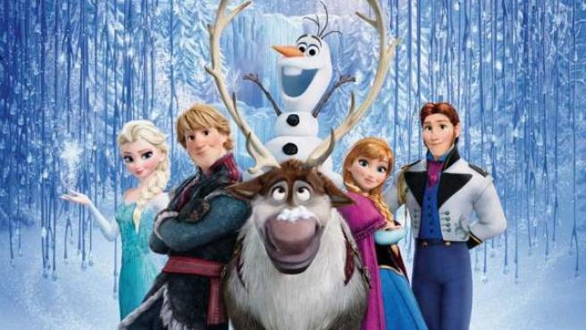 Los protagonistas de 'Frozen: El reino del hielo'