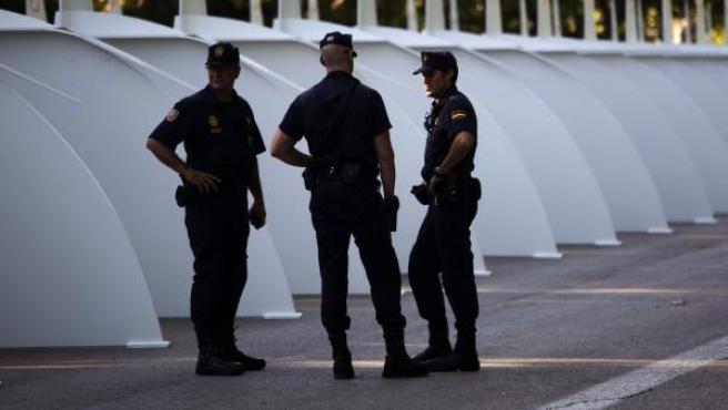Policía Nacional, en una imagen de archivo.