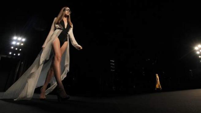 Desfile de moda en París.