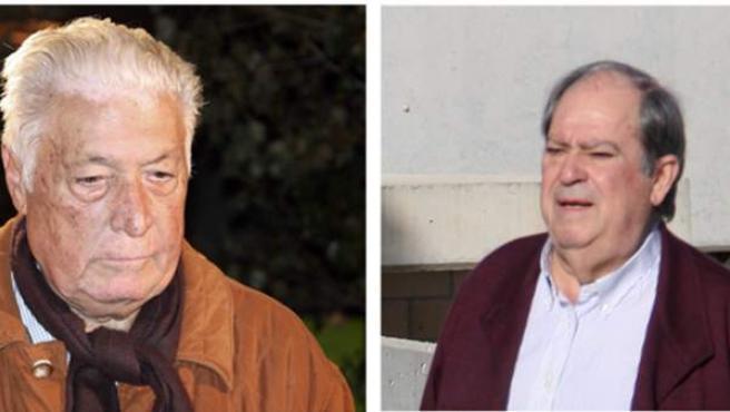 Los principales imputado en el caso Pretoria (de izquierda a derecha y de arriba a abajo): los ex altos cargos de CiU Macià Alavedra y Lluís Prenafeta, el exalcalde de Santa Coloma Bartomeu Muñoz y el exdiputado socialista Luis Andrés García, Luigi.