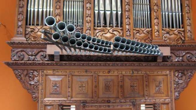 Órgano de Ibercaja Patio de la Infanta
