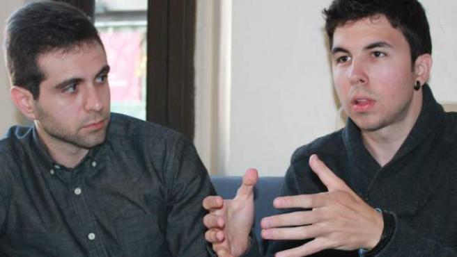 Vegetta (izquierda) y Willyrex durante una entrevista