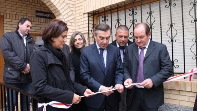La Diputación invierte 145.000 euros en la nueva Casa Consistorial de Vierlas.