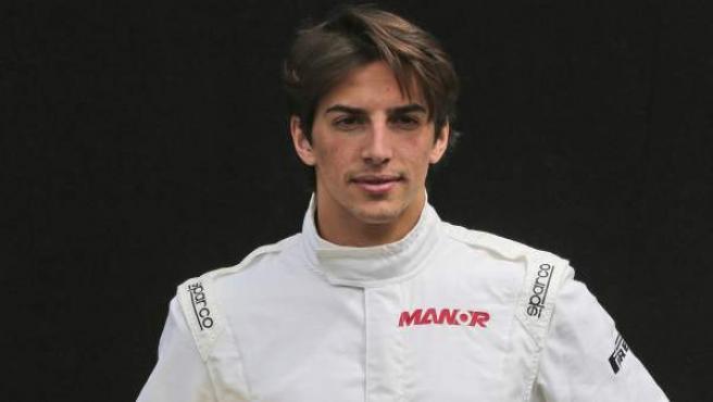 Roberto Merhi, piloto de Manor, en el GP de Australia.