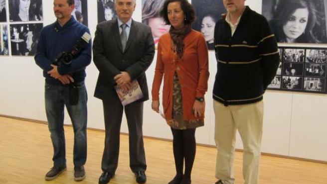 Chuchi Guerra, Artemio Domínguez, Mercedes Cantalapiedra y Chema Concellón