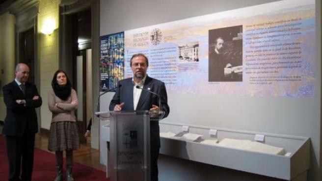 La exposición se puede visitar en la Galería de Arquillos del Palacio de Sástago