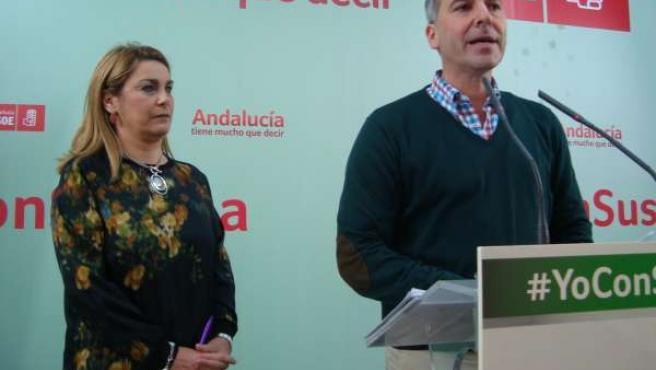 Matilde Cruz y José Manuel Colmenero