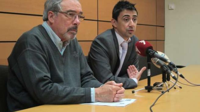 Serna y Sotomayor responden a preguntas de los medios
