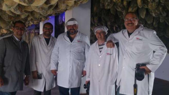 Jamones Eíriz se abre paso en el mercado australiano.