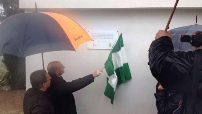 Inauguración de planta de tratamiento de residuos de Jódar (Jaén)