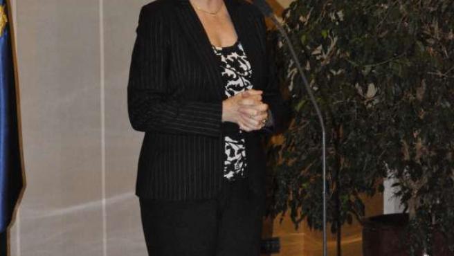 Luisa Fernanda Rudi, en su comparecencia